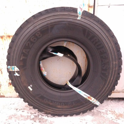 Фото 2 Грузовая шина TRUEFAST TA268  12.00R20, 18сл. 149/146K универсальная