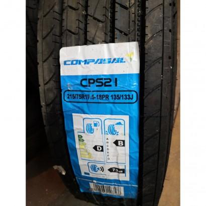 Фото 1 Вантажна шина Compasal CPS21  215/75R17,5 135/133J (18PR) рульова