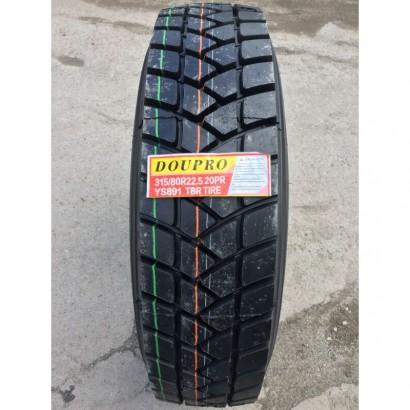 Фото 3 Вантажна шина Doupro YS891 315/80R22,5 156/152L (індустріальна)